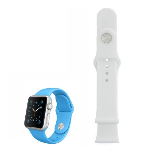 apple-watch-38mm-siliconen-horlogeband-wit-zonder-connector