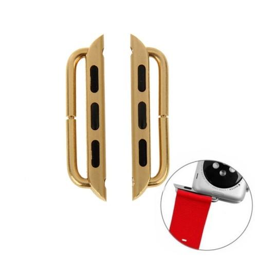Apple Watch 42mm connector Metalen buckle Goud