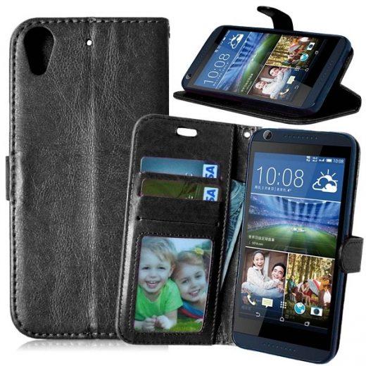 htc-desire-626-flip-cover-case-hoesje-frontje-zwart
