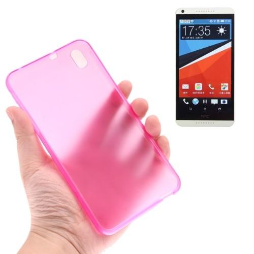 case - TPU - roze - transparant