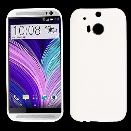 htc-one-m8-mesh-style-tpu-cover-case-hoesje-frontje-wit