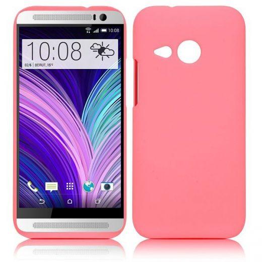 htc-one-m8-mini-hard-cover-case-hoesje-frontje-roze