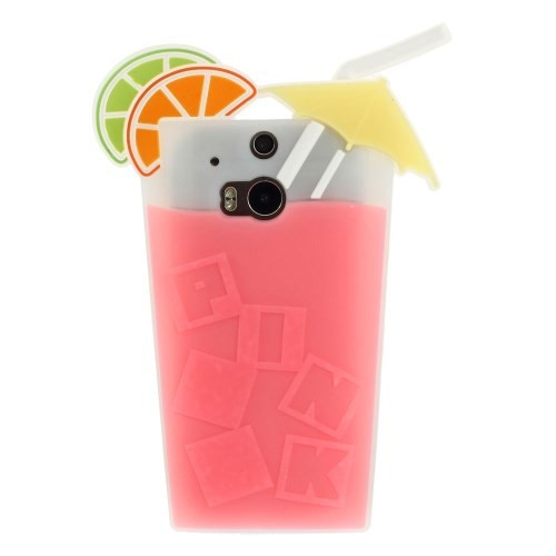 htc-one-m8-silicone-cocktail-cover-case-hoesje-frontje
