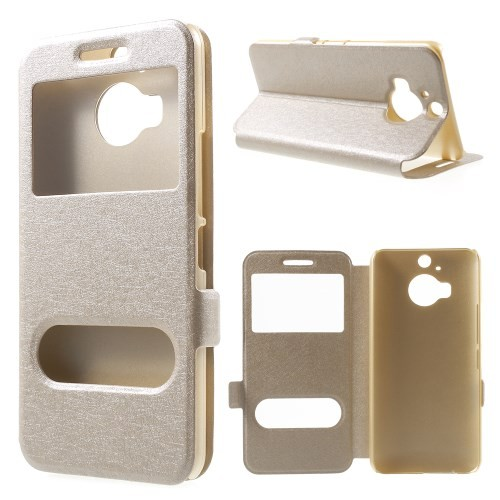 htc-one-m9-plus-callid-flipcover-case-hoesje-frontje-champagne