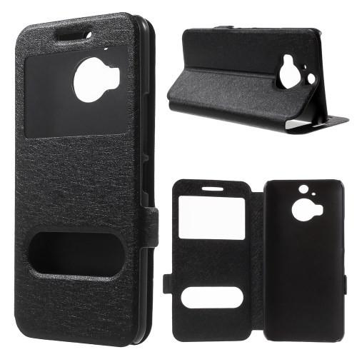 htc-one-m9-plus-callid-flipcover-case-hoesje-frontje-zwart