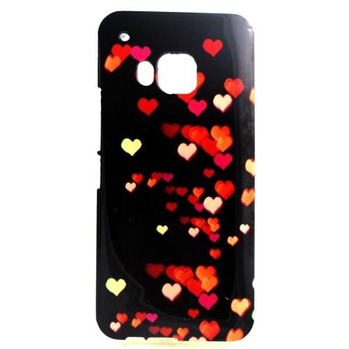 case - TPU - hearts