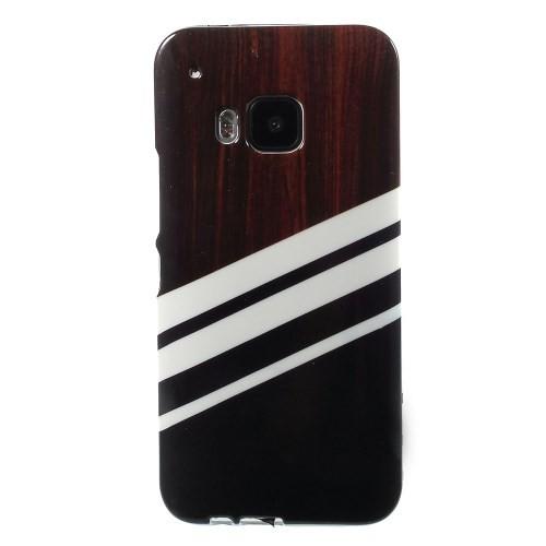 case - TPU - wood stripes