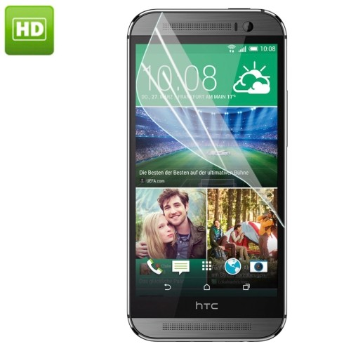 HTC One (M9) Transparant screenprotector