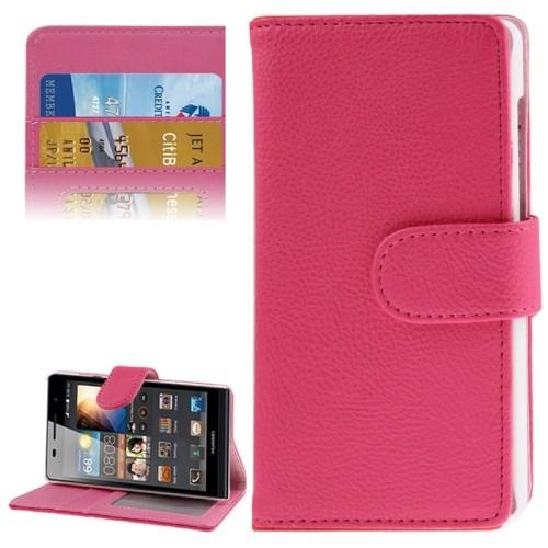 huawei-ascend-g6-3g-flip-case-cover-hoesje-frontje-roze