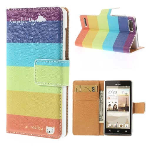 huawei-ascend-g6-flip-case-cover-hoesje-frontje-colorfull