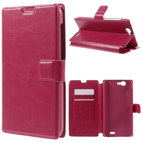 case - PU leder - PC - roze