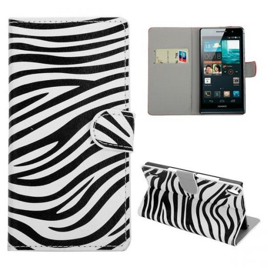 case - PU leder - PC - Zebra