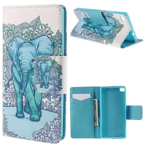 huawei-ascend-p8-flip-case-cover-hoes-olifant