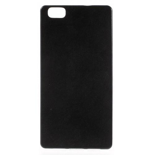case - TPU - PU leder coated - zwart