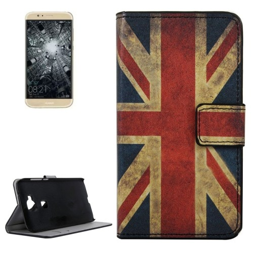 case - PU leder - PC - UK vlag