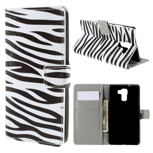 huawei-honor-7-flip-case-cover-hoesje-zebra
