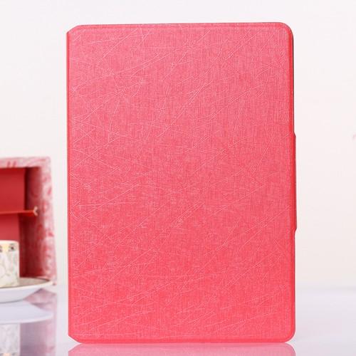case - PU leder - silk pattern - roze