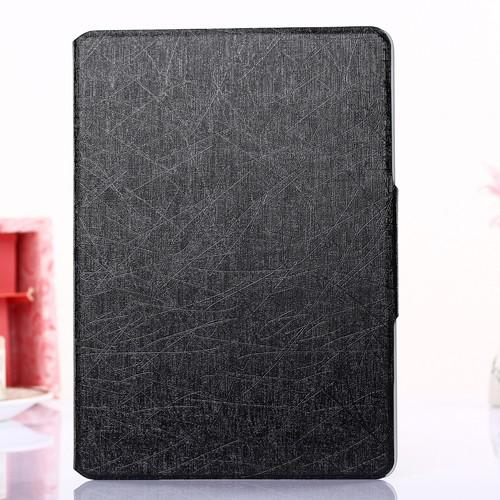 case - PU leder - silk pattern - zwart