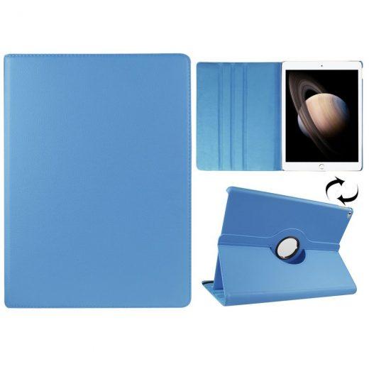 case - PU leder -  360 graden draaibaar - Blauw