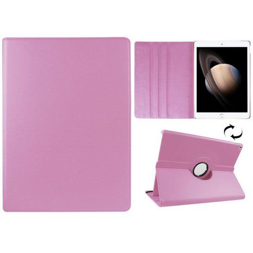 case - PU leder -  360 graden draaibaar - Roze