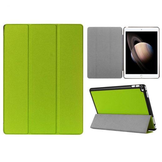 case - 3-fold- PU leder - groen