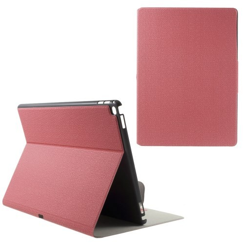 ipad-pro-129-pu-leather-case-cover-hoes-roze