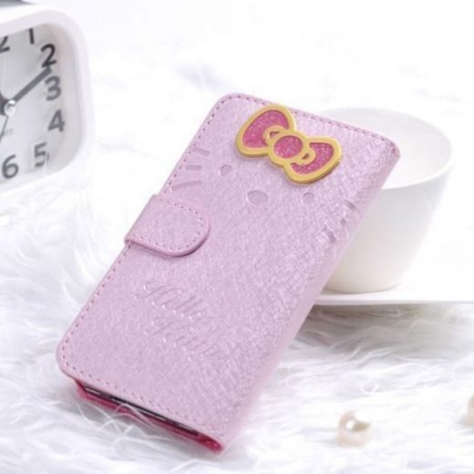 iphone-4-4s-bow-flip-hoesje-cover-case-licht-roze