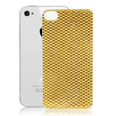 iPhone 4  4S Diamond Encrusted skin sticker