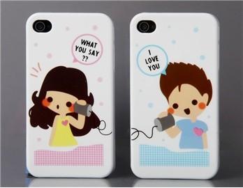 case - PC - Couple covers - 2 stuks - boy/girl