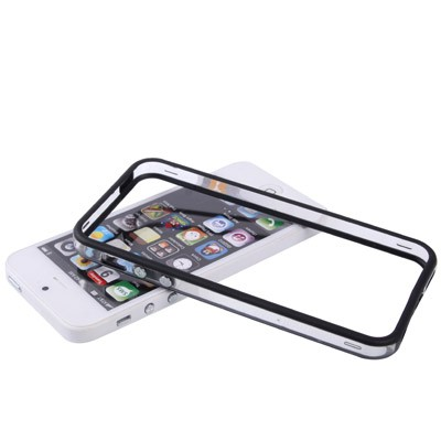 iphone-5-5s-bumper-frame-cover-case-transparant-zwart