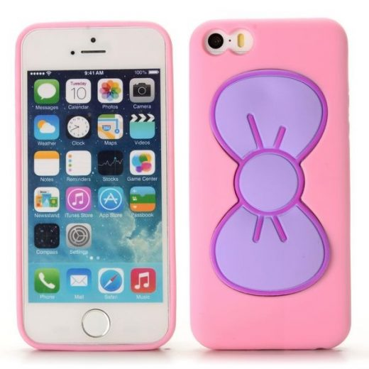 SE - Cute Bowknot TPU Cover