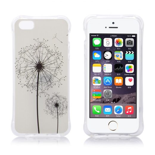 iphone-5-5s-se-hoes-cover-tpu-paardenbloem