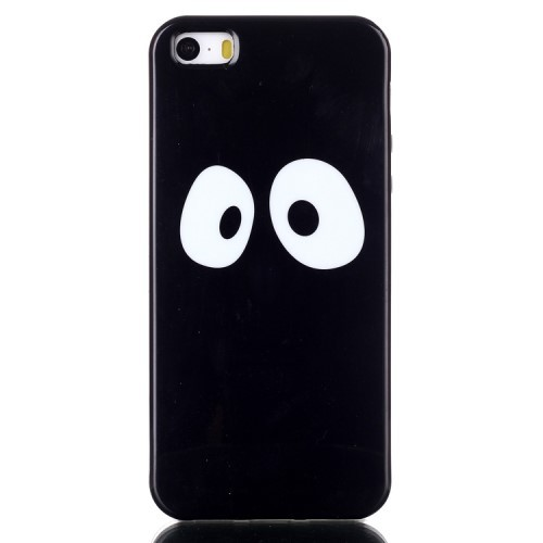 iphone-5-5s-se-hoes-cover-tpu-zwart-eyes-in-the-dark