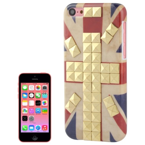 iphone-5c-hoes-cover-case-pc-retro-uk-vlag-studs