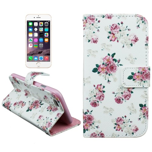 case Pink flower + Creditcard Vakjes