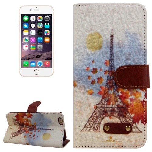 case - PU leder - TPU - Eiffel tower