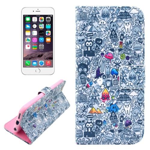 iphone-6-plus-55-inch-flip-cover-hoesje-case-graffiti-creditcard-vakjes