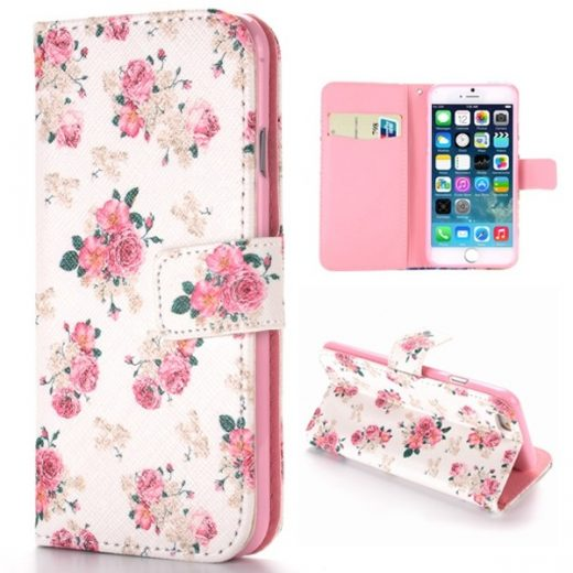 iphone-6-plus-55-inch-flower-flip-cover-hoesje-case-card-clots-wit