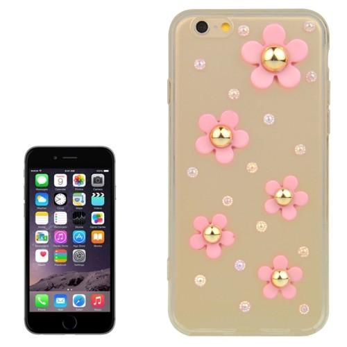 case 3D flowers