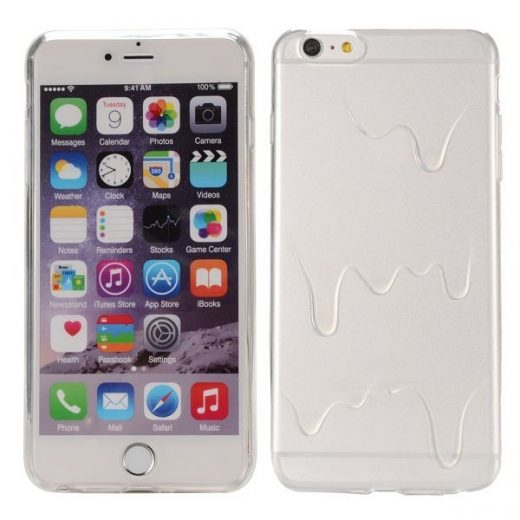 iPhone 6(S) Plus (5.5 inch) TPU ice cream butter transparante case cover hoes