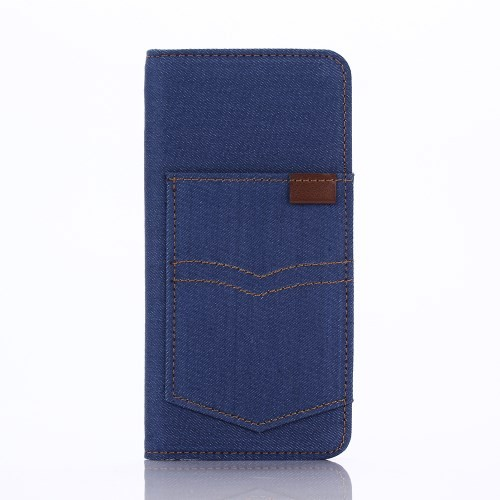 case - PU leder - PC - Denim Jeans Broekzak