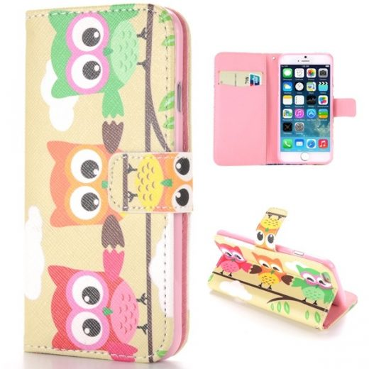 iphone-6s-plus-55-inch-flip-hoes-cover-case-pu-leder-tpu-owl