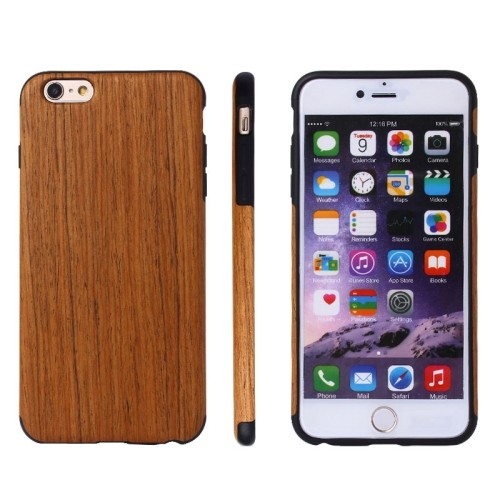 case - TPU - Hout textuur