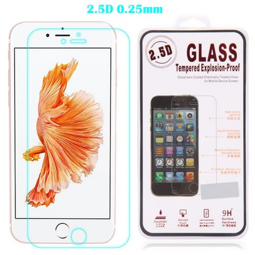 iPhone 7 Plus (5.5 inch) - Screen protector - Tempered glass - 25mm dun