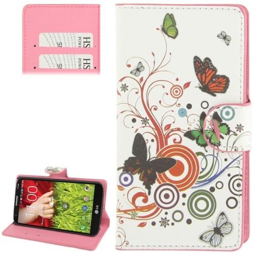 lg-optimus-g2-mini-flip-cover-case-hoesje-frontje-vlinders