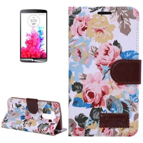 lg-optimus-g3-horizonale-flip-cover-case-hoesje-flowers
