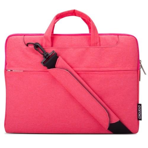 Reistas voor Laptop en tablet tot max. formaat van 13.3 inch roze