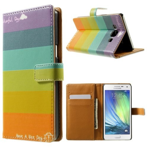samsung-a5-flip-case-cover-hoesje-colorfull