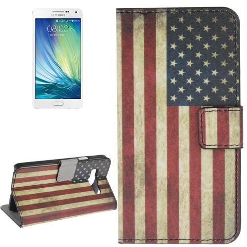 case - PU leder - PC - US Vlag