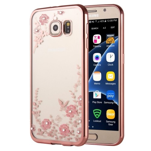 samsung-galaxy-s7-hoes-cover-case-tpu-transparant-roze-bloemen